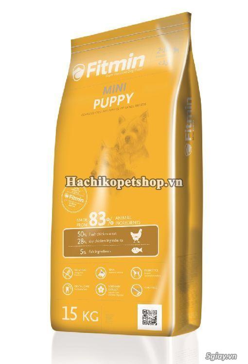 Tìm hiểu dinh dưỡng của thức ăn cho chó Fitmin từ Cộng hòa Séc