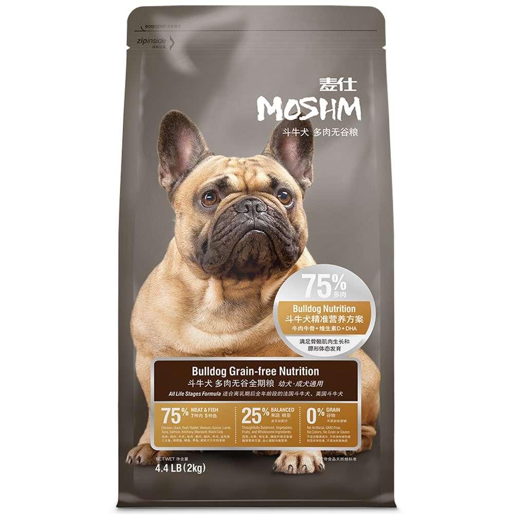 Chó khỏe mạnh hơn với thức ăn cho chó MOSHM