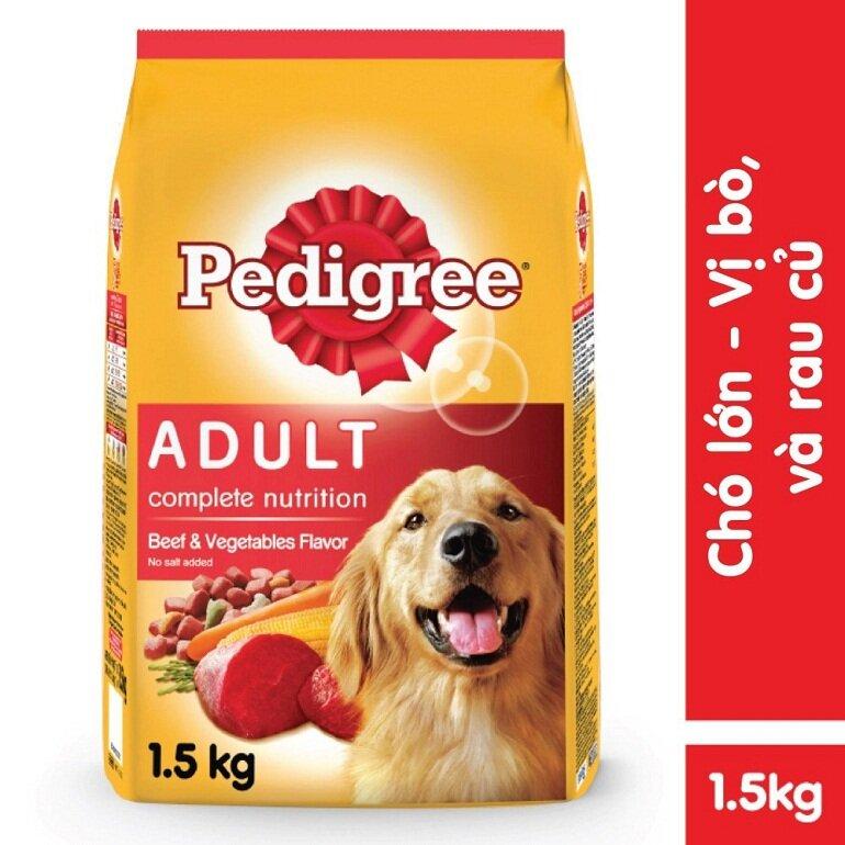 Cùng tìm hiểu thức ăn khô cho chó Pedigree