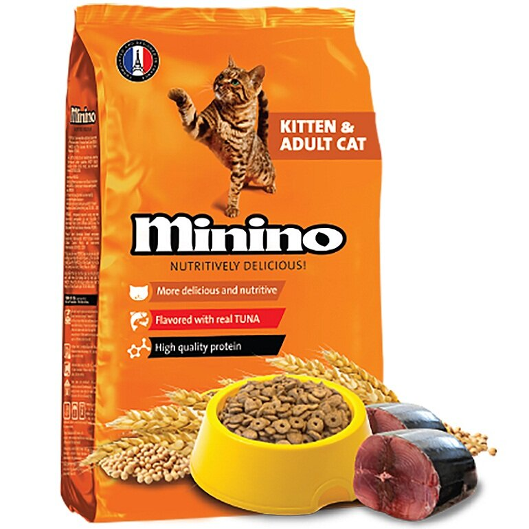 thuc an cho meo minino